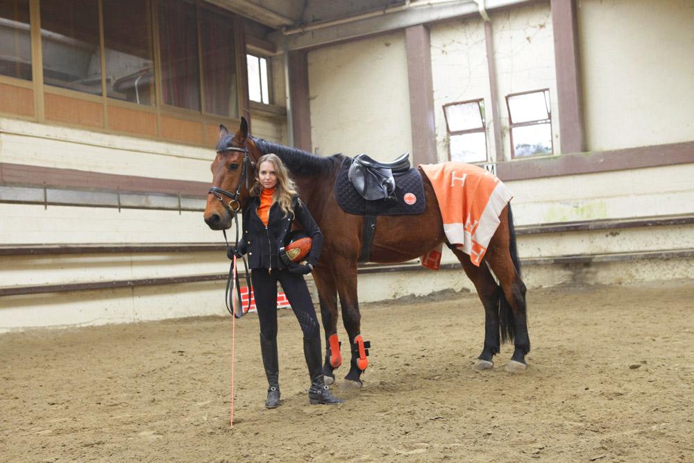 spring equestrian look