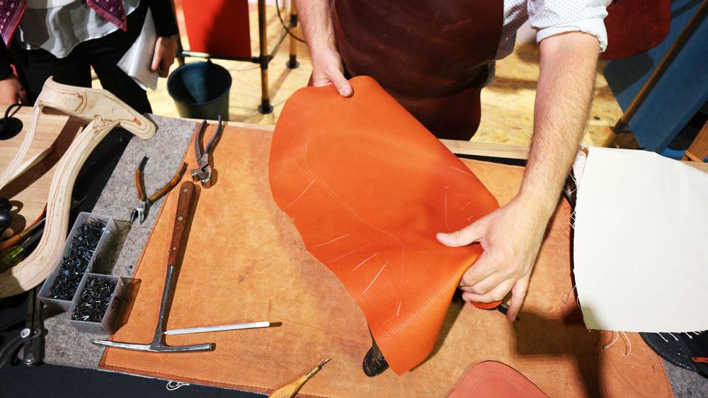 Hermès behind the scenes: #hermesartisan