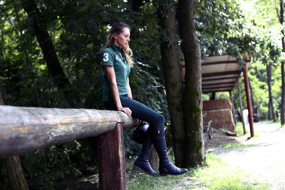 Stivali Equitazione su misura: Virginia Varinelli per Secchiari