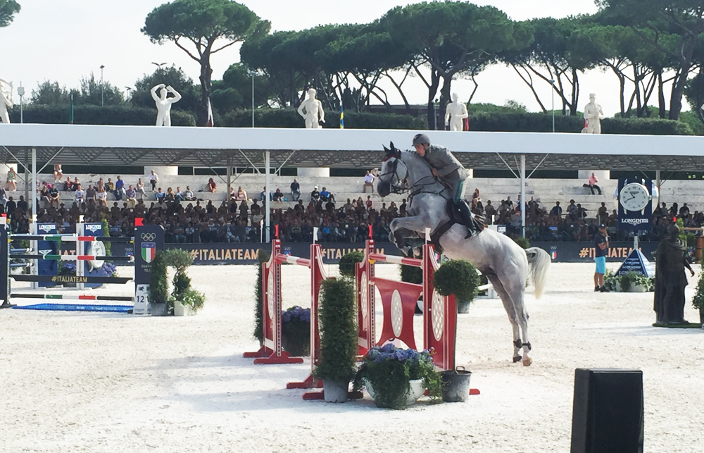 emanuele gaudiano global champions tour roma
