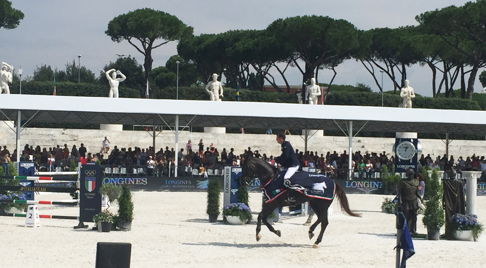 harrie smalders vincitore longine global champions tour roma