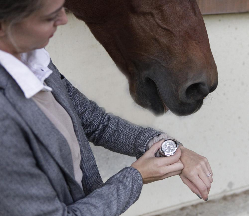 Longines Cnquest Jumping orologio equitazione