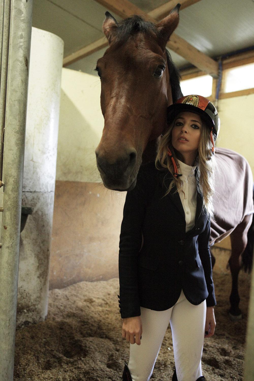 pantaloni da concorso bianchi equitazione