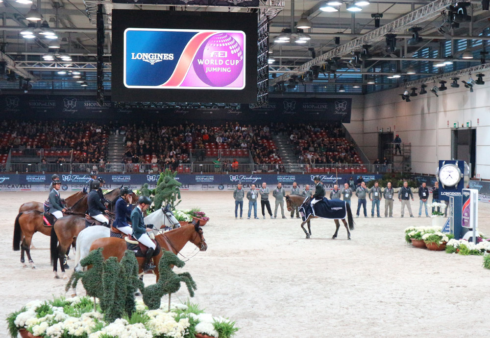 abdel said winner of longines fei world cup verona