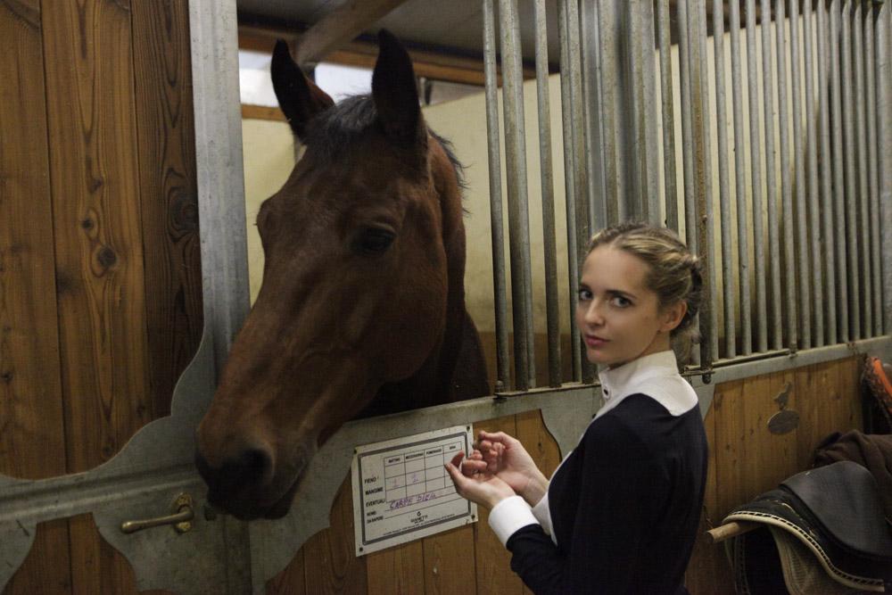 acconciature equestri