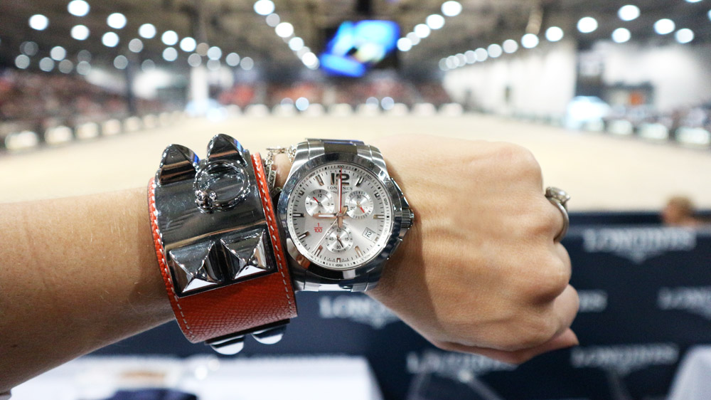 longines conquest jumping watch 2017