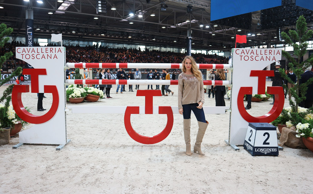 virginia varinelli ambassador for longines fei world cup