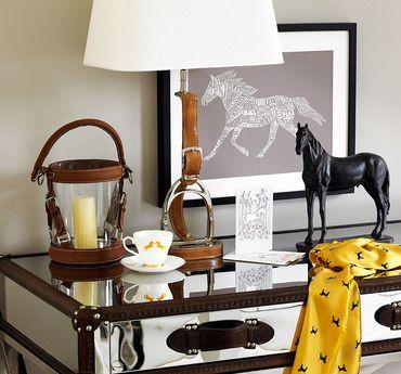 decorazioni equestri per la casa