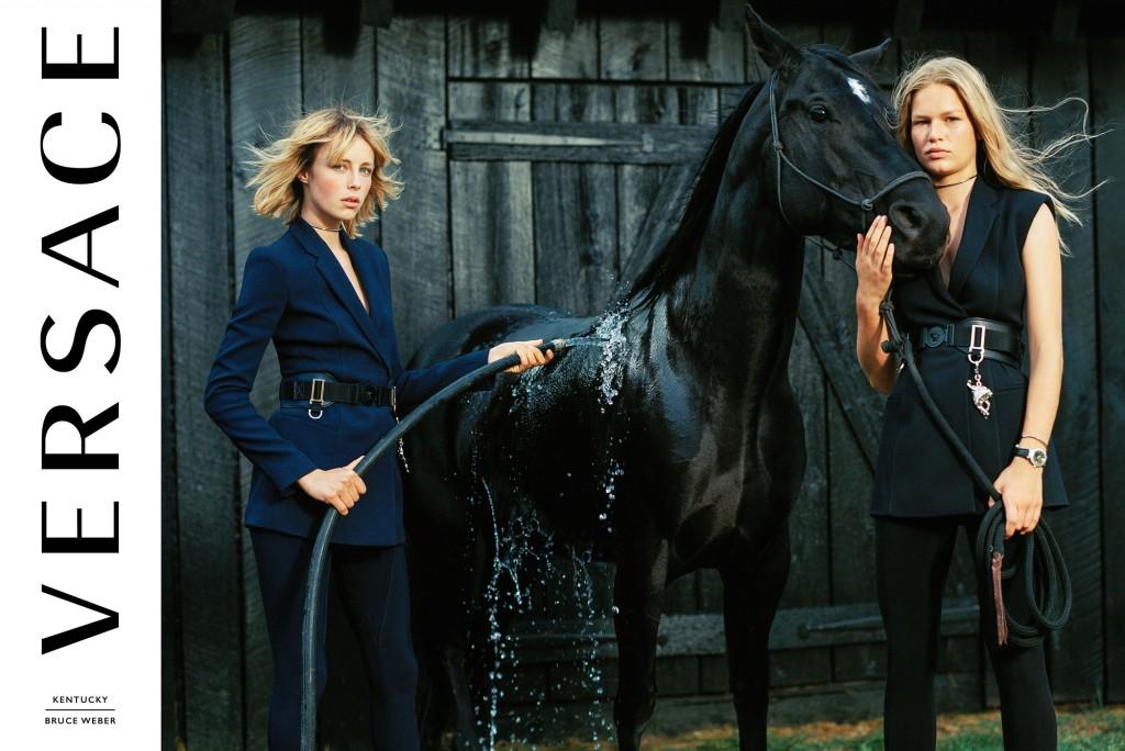 collezioni equestri nella Moda Versace