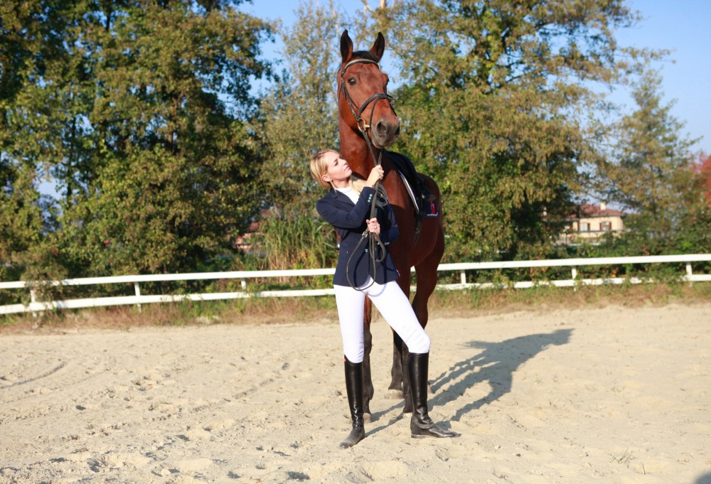 Look Equitazione Concorso con Animo