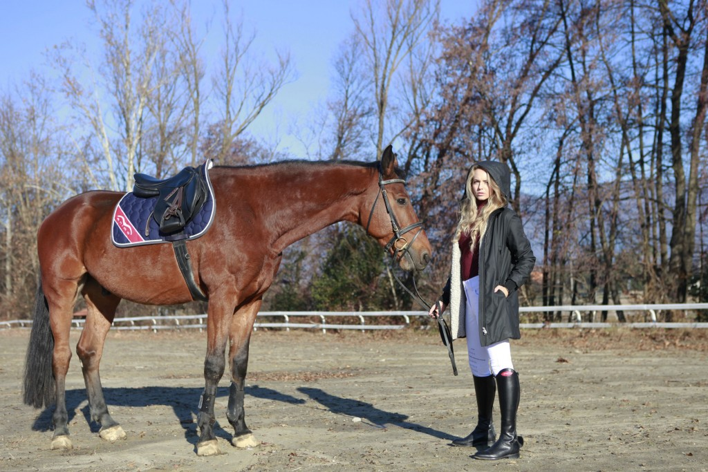 equestrian winter look animo