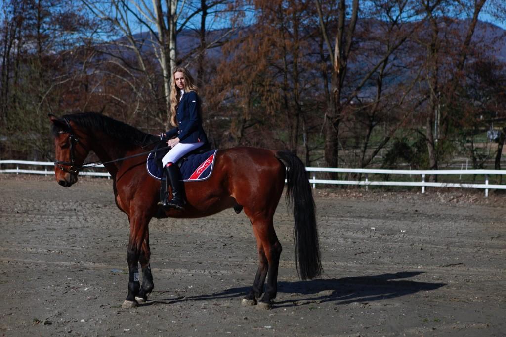 giacca concorso equitazione animo Virginia Varinelli