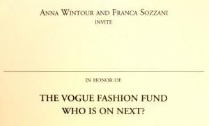 Vogue Talents party