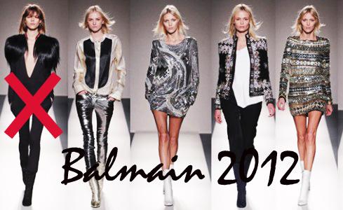balmain 2012