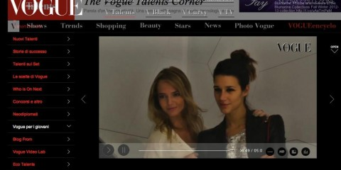 vogue talents corner