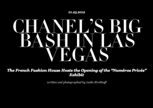 chanel party in vegas