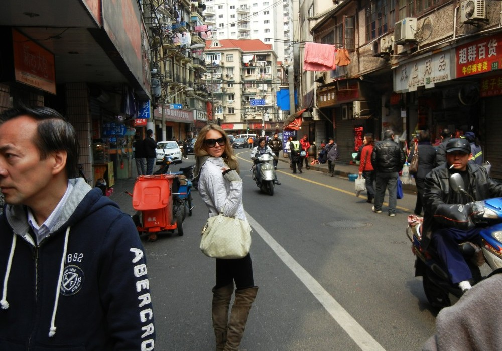 A tour of Shanghai