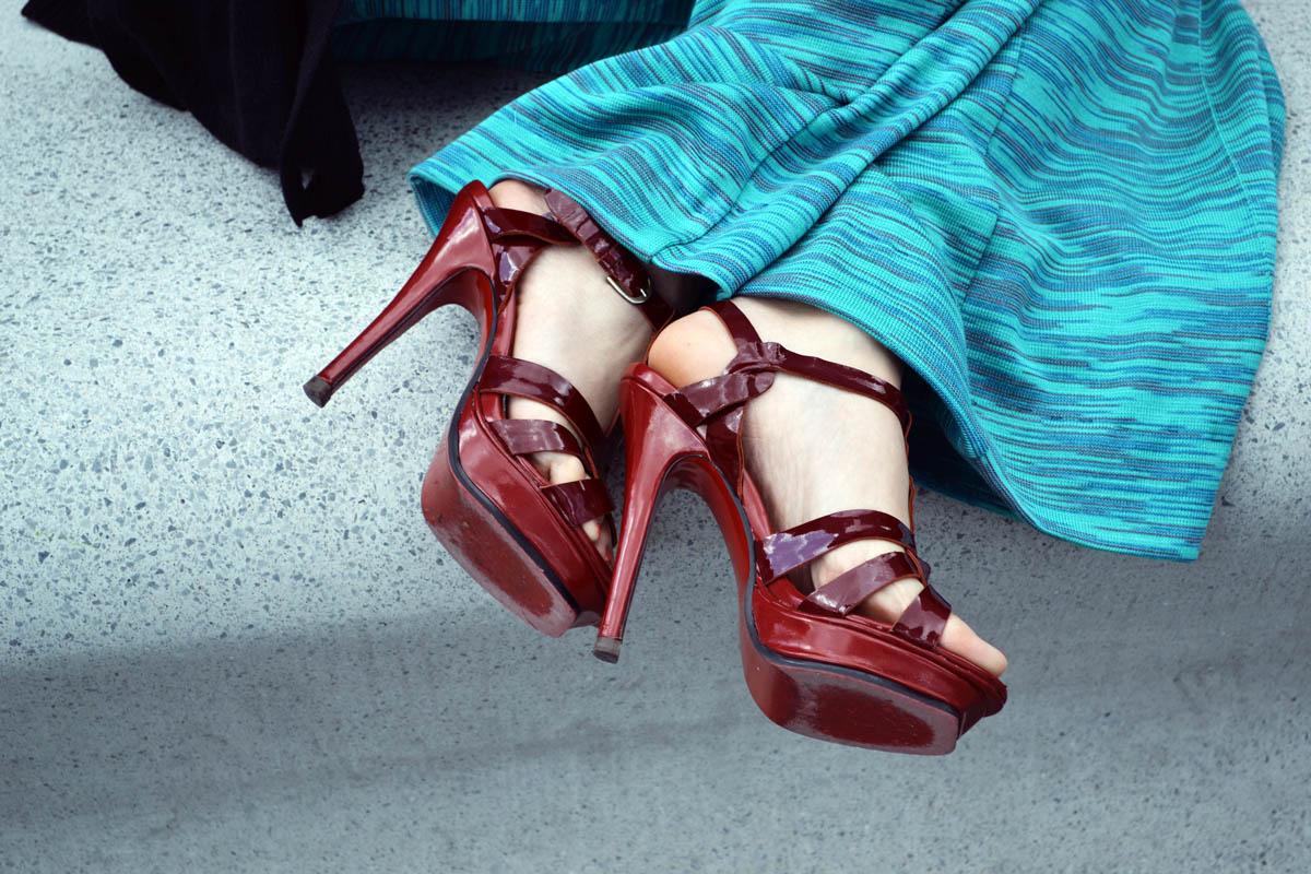 la prima high heels
