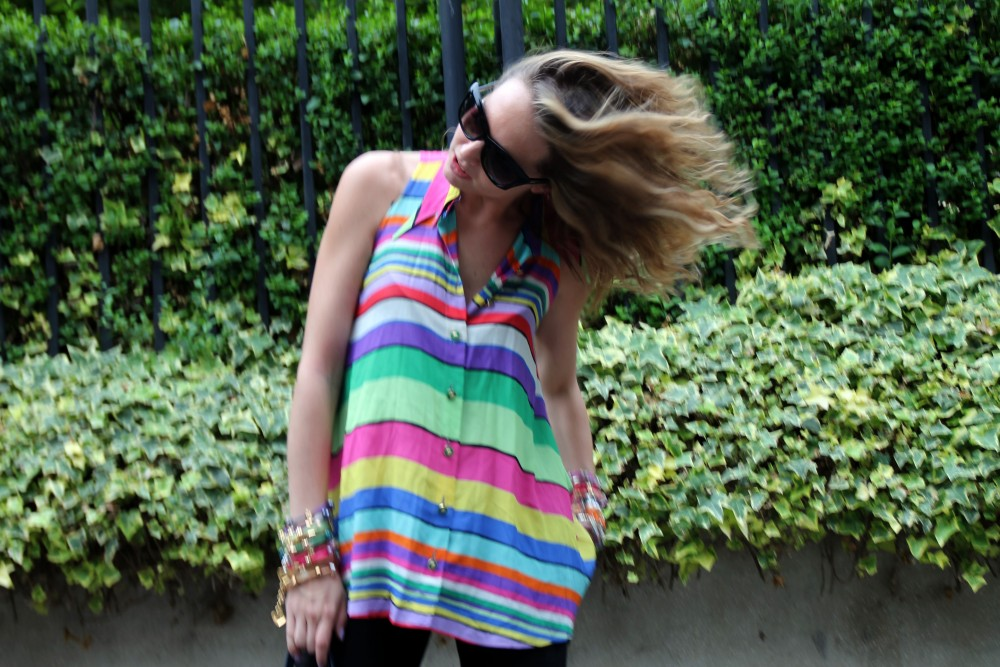 Vintage Multicolor Shirt