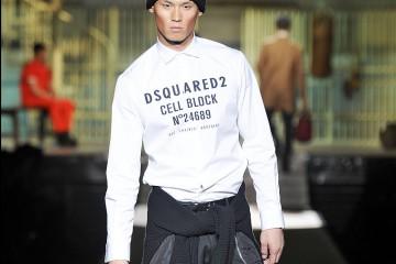 DSquared2MENSWEAR Fall Winter 2014_15 Milan Fashion Week January 2014