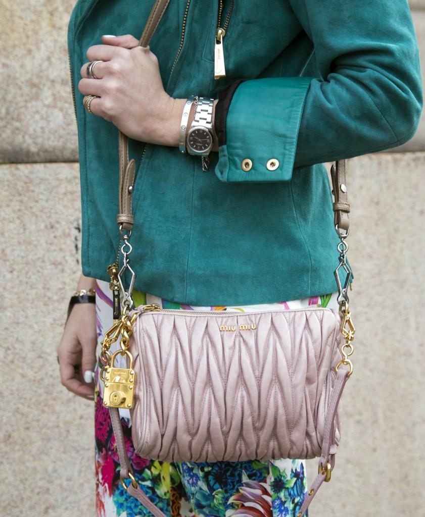 Miu miu pink bag