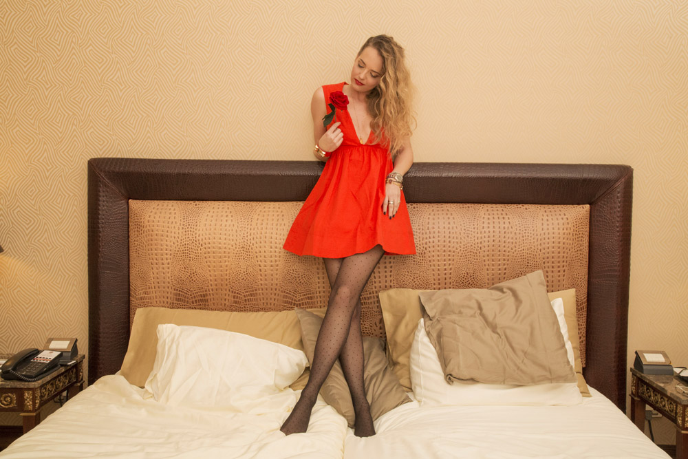 red dress saint valentine's day