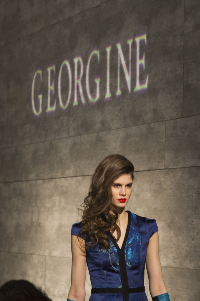 georgine fashion show