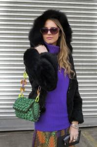 ouside diesel fashion show new york