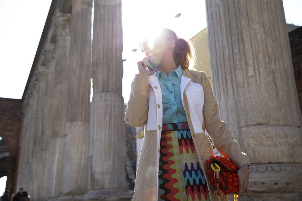 Mmissoni raffia coat 2014