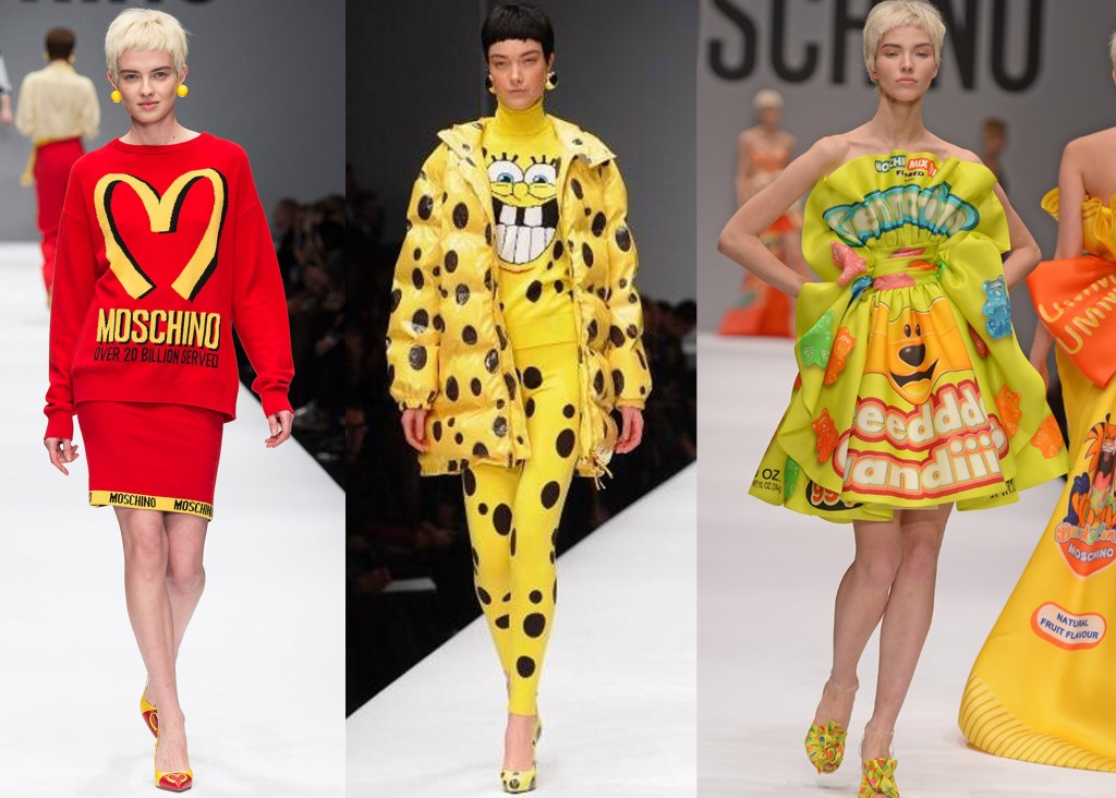 Moschino fall winter 2015