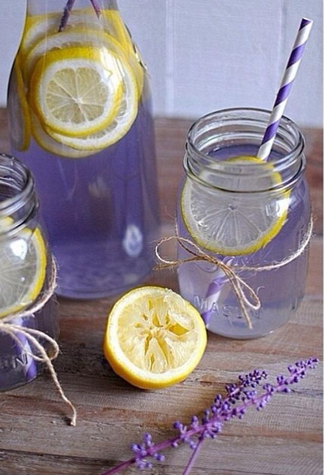 detox lavander water