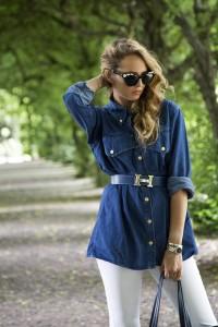 blu hermes belt