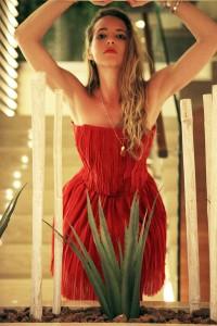 de tomaso red dress
