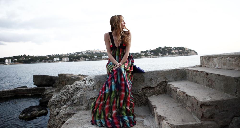 mmissoni vestito lungo estate 2014