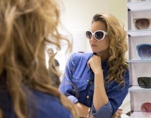 nau white sunglasses