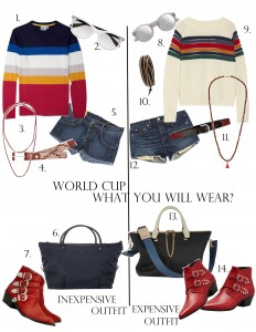 World cup 2014 Brasil: what you will wear?