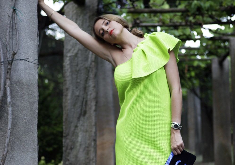 Summer Fashion 2014: Fluo Dress