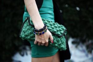 mmissoni raffia bag green