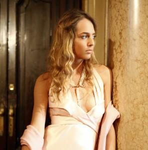 ralph lauren light pink dress