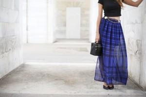 sisley long skirt