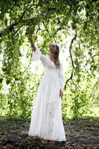 denim and supply white dress