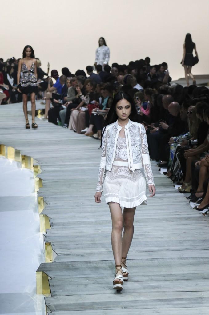 Roberto cavalli runway spring summer 2015- milan fashion week