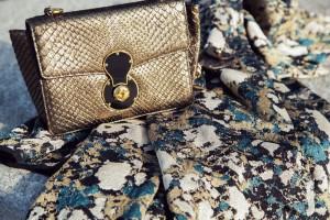 Ralph Lauren golden bag