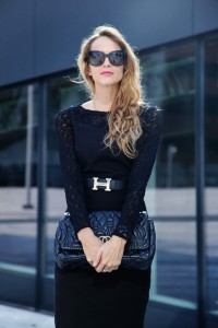 What to wear with a little black dress