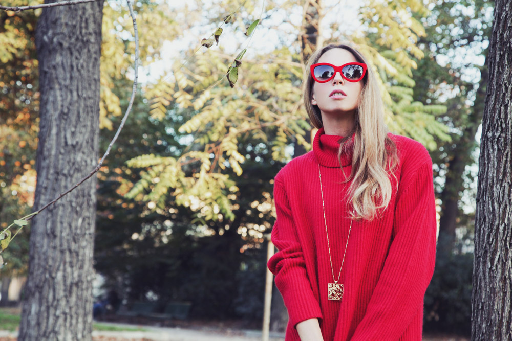 RED TONES OUTFIT