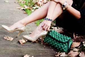 miu miu gold glitter shoes