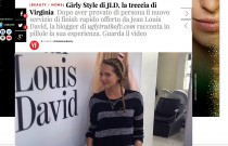 Video project with Jean Louis David & Vanityfair Italia