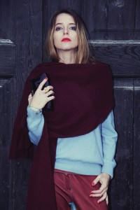 bordeaux winter look