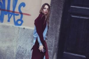 burgundy look by virginia varinelli fashion blogger