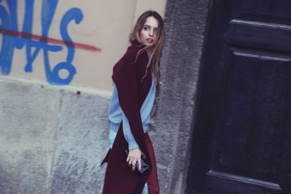 burgundy look by virginia varinelli fashion blogger